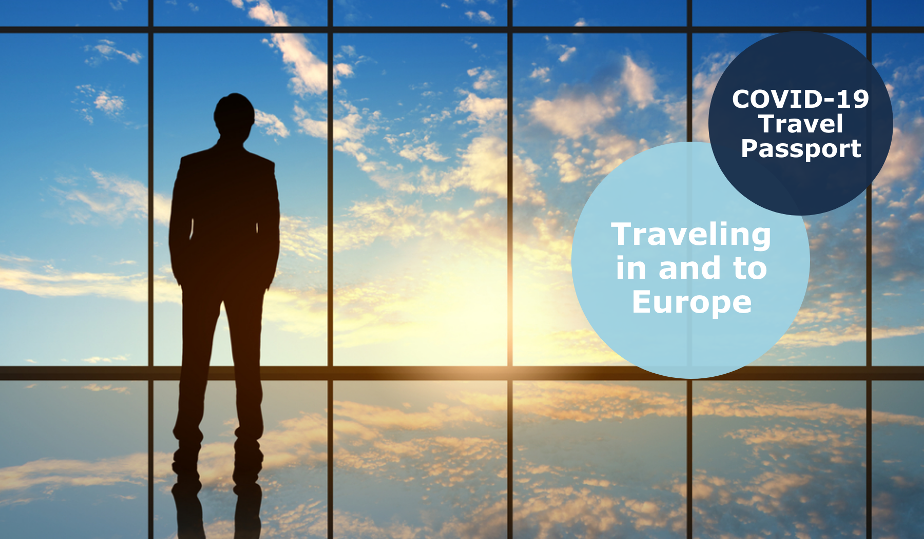EU Covid-19 Travel certificate traveling in and to Europe