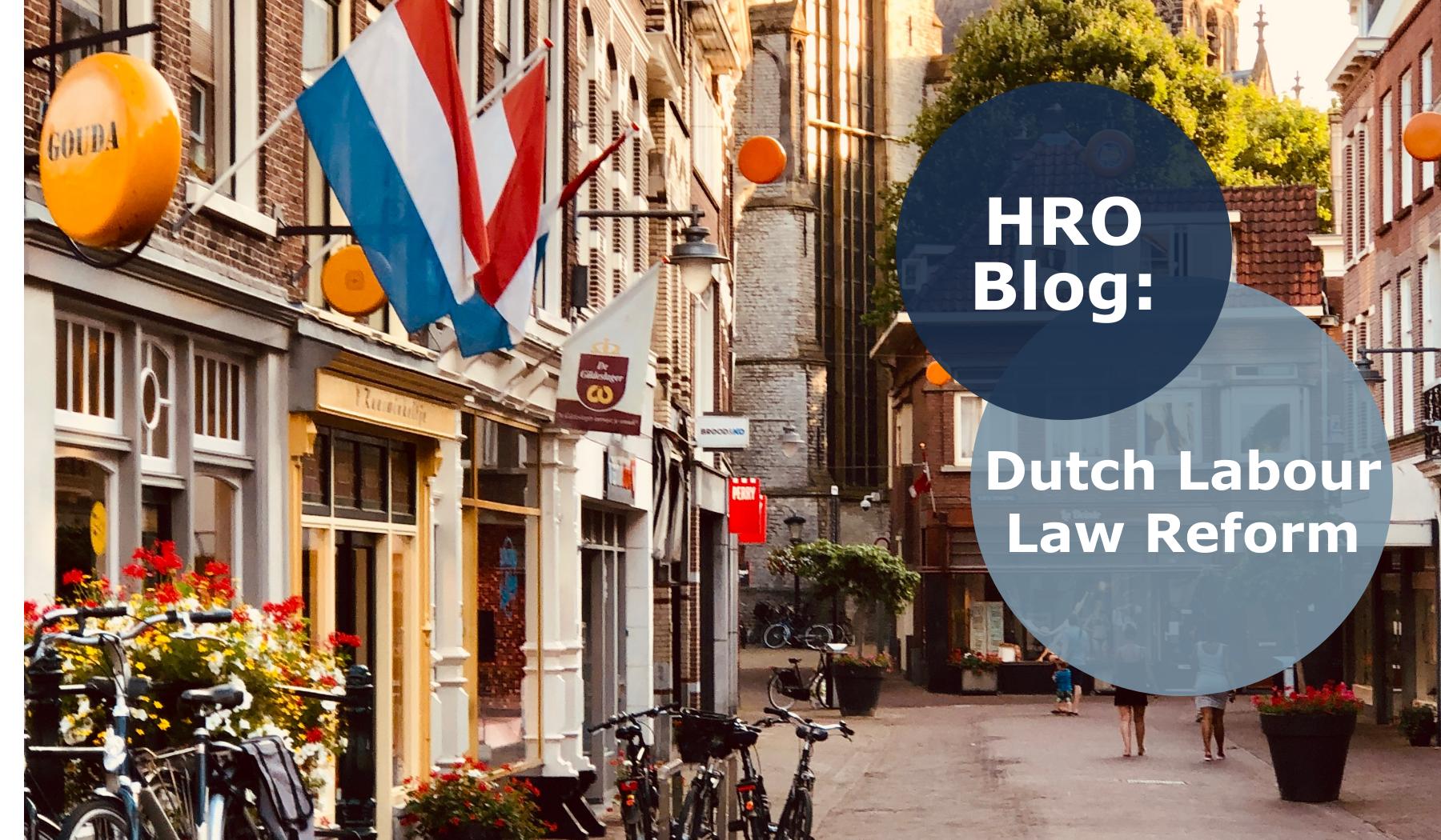 HRO blog Dutch labour law